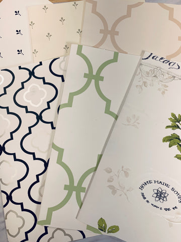 Simple Kitchen Wallpaper Collection set of 6 - LZ