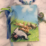 Sweet Animals Ring Bound Journal by Cheryl Miller from Canad