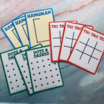 Children's Game Cards set of 9 - LZ