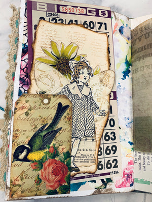 Xtra Stuffed Bingo Junk Journal by Lindsey