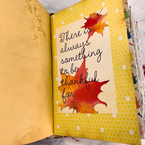 Fall Leaves Junk Journal by Jane Dilley