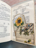 Nature's Notes Altered Book Journal by Kristin (March Challenge)