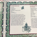 Victoria Roses Christmas Caroling Party Book - LZ