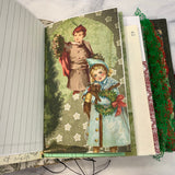 Traditional Christmas Junk Journal by Yesenia Diaz