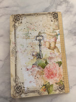 Floral Loved Altered Notebook by JoAnn