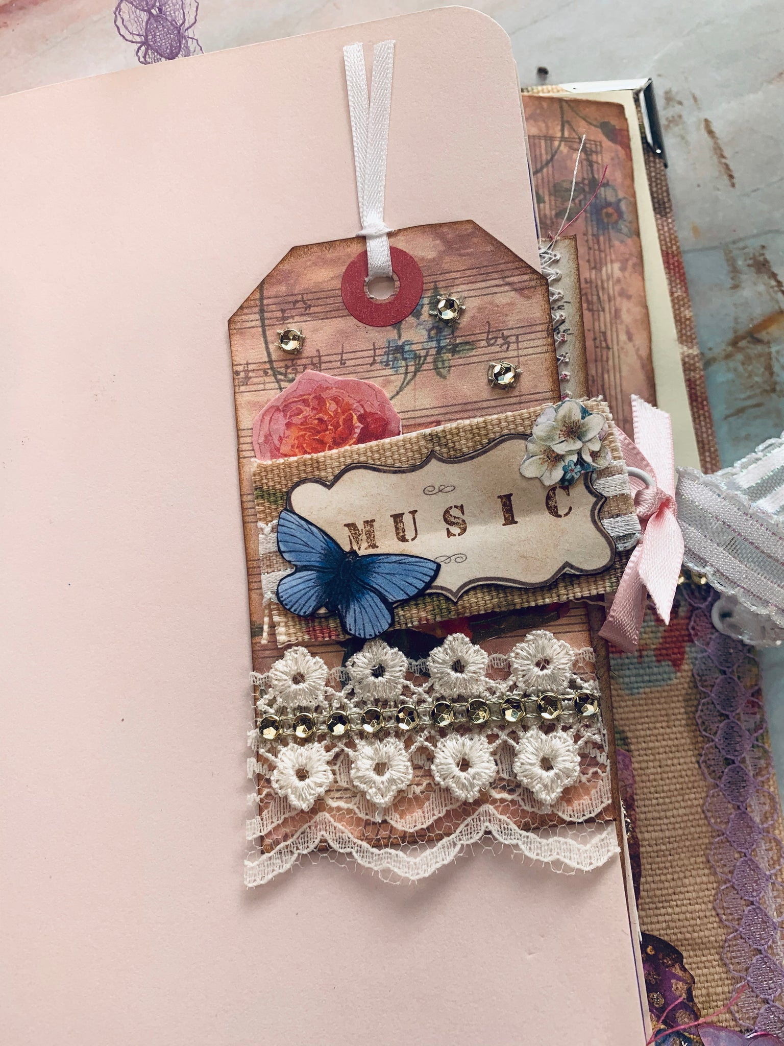 Junk Journal by Linda Reyes (March Challenge)