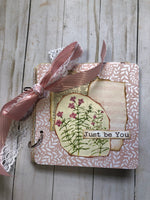 Ringbound Glue Book with 50+ Collage Pieces - JH