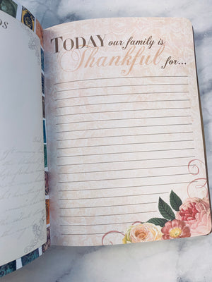 Treasured Family Moments Journal