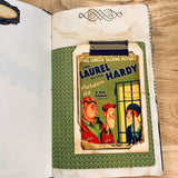 Vintage Hollywood Junk Journal by Terri Steffes