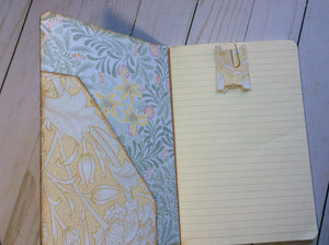 William Morris Altered Notebook #2 by Jo Ann
