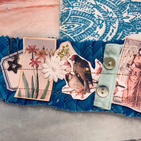Snippet Strip with Fabric Pouch - JH