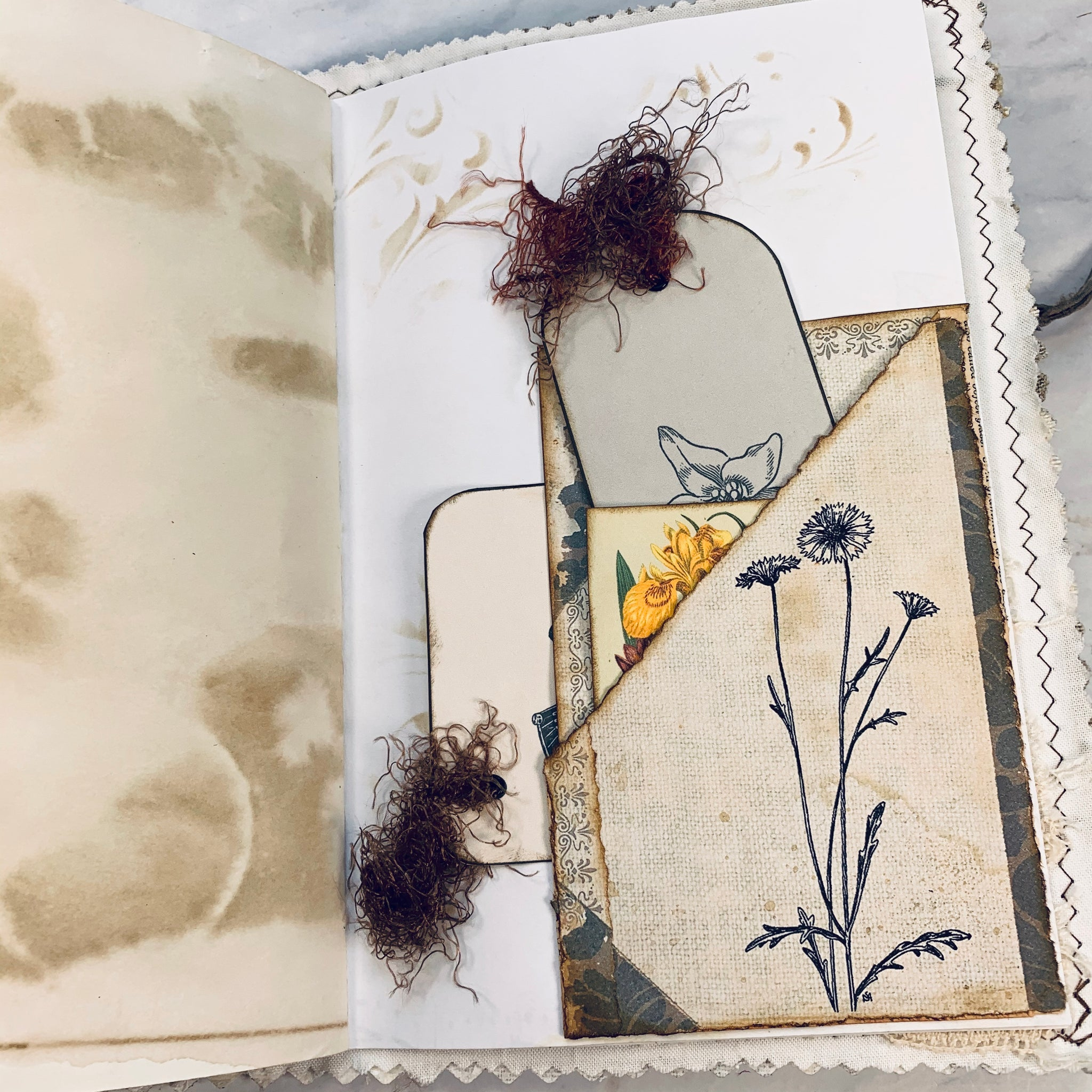 Nature Junk Journal by Trunk Treasure Designs (Jan 2020 Challenge Journal)