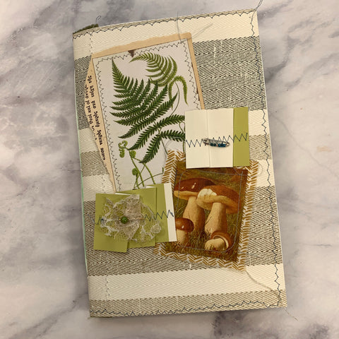 Basic Mushroom & Fern Junk Journal #5 by Lindsey