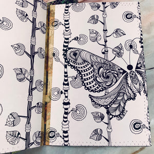 Woodland Stitched Journal Covers set of 3 - LZ
