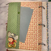 Little Cowgirl Ring Bound Journal by Cheryl Miller from Canada