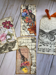 Fabric Bag with Variety of 14 Journaling Pieces - JH