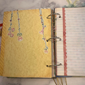 Fairy People Ring Bound Journal by Cheryl Miller from Canad