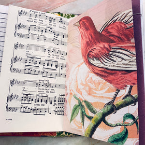 Florals Junk Journal by Barb Plude (Feb Challenge)