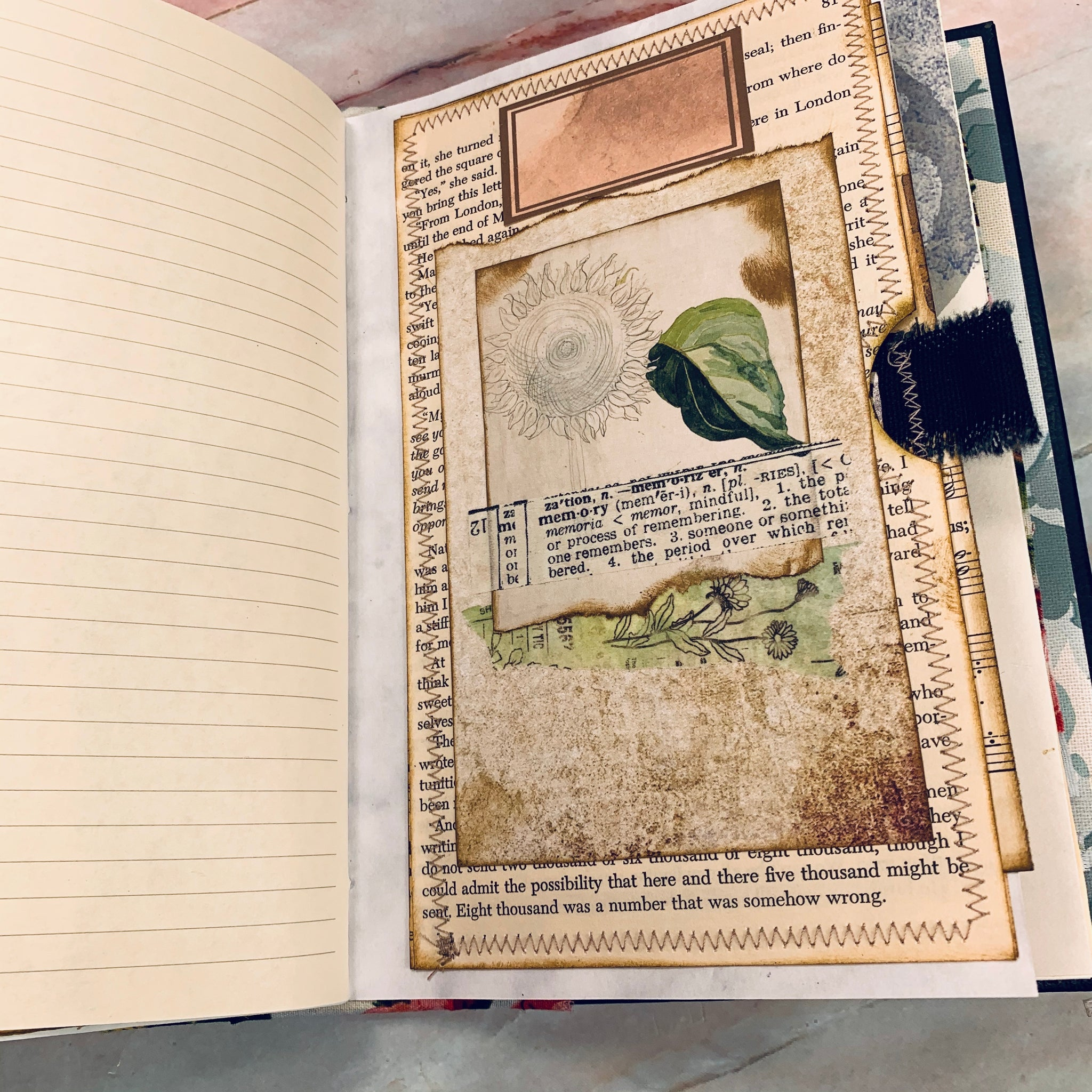 Junk Journal by Lyn Lewis (March Challenge)
