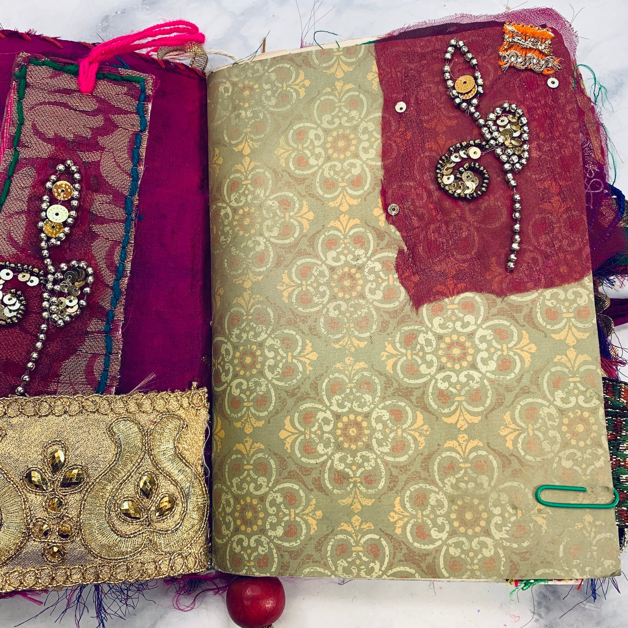 Bohemian Junk Journal by Mehataj from India