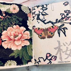 East Meets West Junk Journal by Elizabeth Chisholm (Feb Challenge Journal)