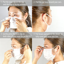 Load image into Gallery viewer, WHOLESALE 3-Ply Non-Woven Disposable Mask