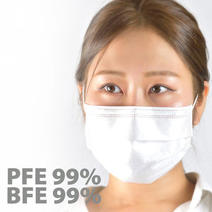 3-Ply Non-Woven Disposable Mask 250pcs (5 x 50pcs pack) US$14/box