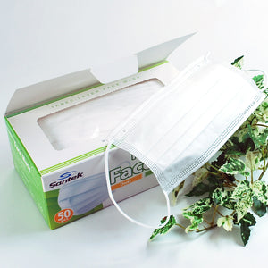 3-Ply Non-Woven Disposable Mask 500pcs (10 x 50pcs pack) US$13/box