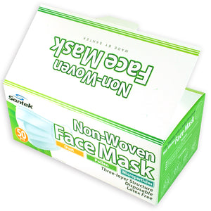 WHOLESALE 3-Ply Non-Woven Disposable Mask