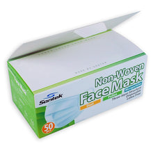 Load image into Gallery viewer, 3-Ply Non-Woven Disposable Mask 50 pcs