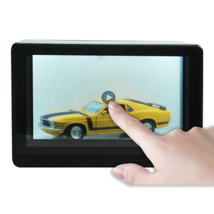 "10.1"" Transparent  LCD Showcase ( Touch panel + Android 4.x + Wi-fi + Bluetooth)"