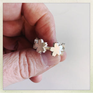 Big Sakura Ring - Ceeb Wassermann Jewellery