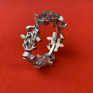 Swimming Koi Ring - Ceeb Wassermann Jewellery
