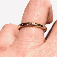 Load image into Gallery viewer, Simple Sparkle Ring - Ceeb Wassermann Jewellery