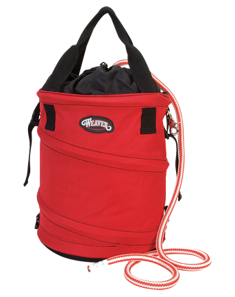 WEAVER COLLAPSIBLE ROPE BAG