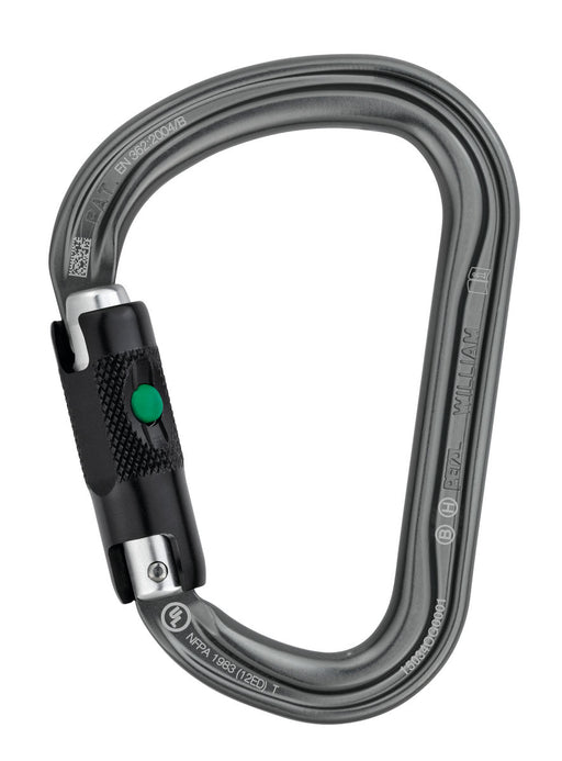 PETZL WILLIAM BALL LOCK HMS CARABINER