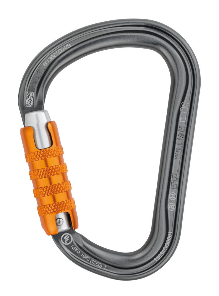 PETZL WILLIAM TRI-ACT HMS CARABINER