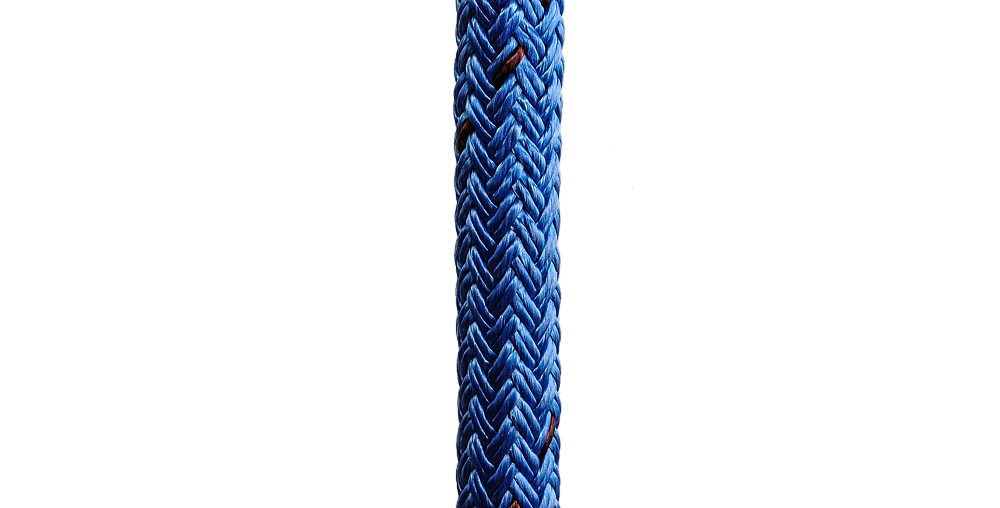 "DOUBLE BRAID STA-SET ROPE 1"" diameter"