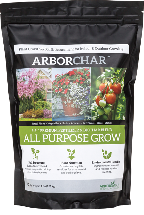 ARBORCHAR, ALL PURPOSE GROW