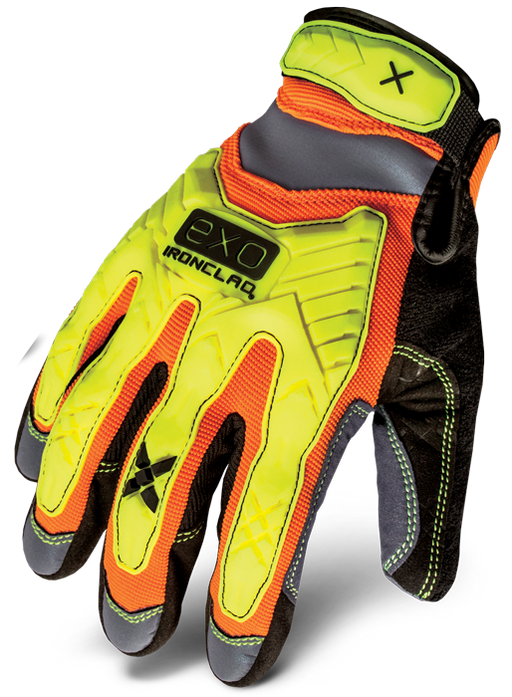 IRONCLAD HI-VIS GLOVES