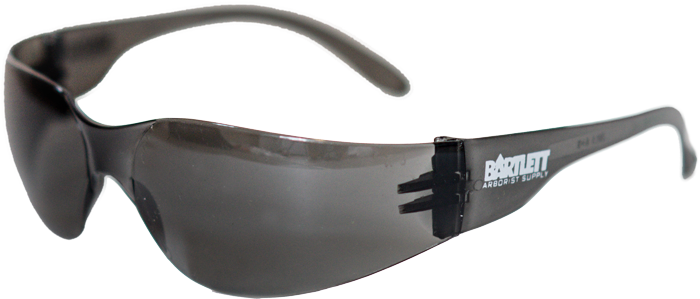SMOKE LENS SAFETY GLASSES