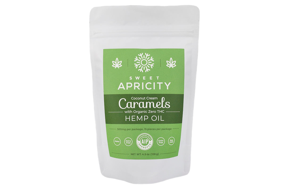 Hemp Oil Sea Salted Caramels (AIP/Paleo)