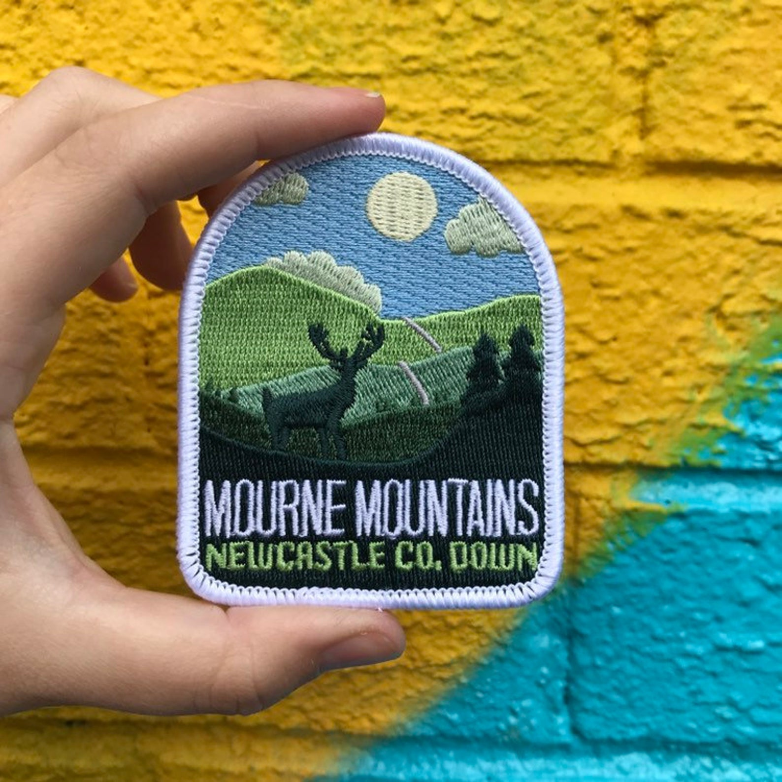 'Mourne Mountains' Patch