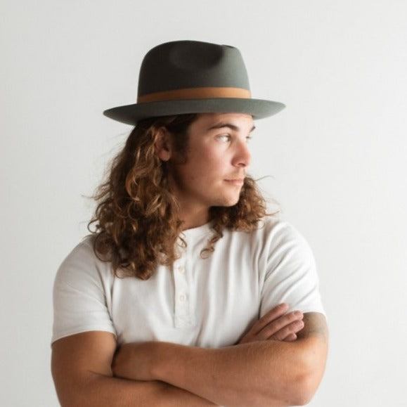 WICKER PARK FEDORA HAT