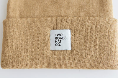 THE ROAD WATCH CAP BEANIE – CAMEL