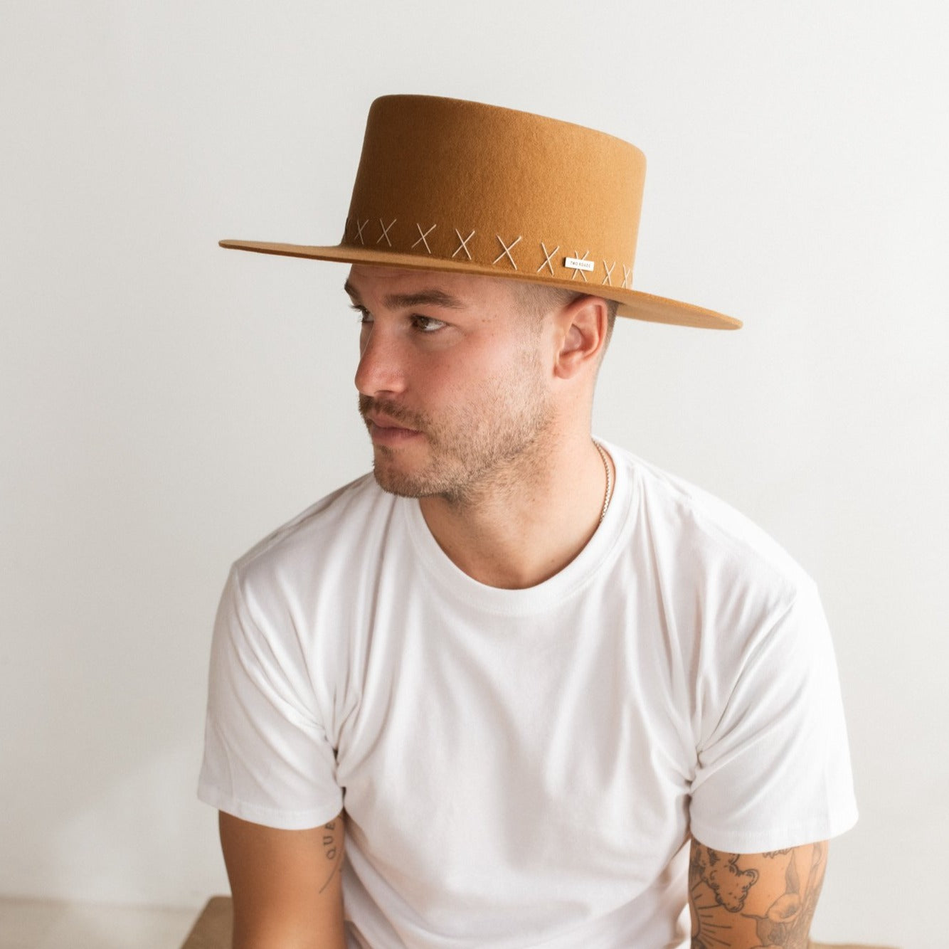 LA PAMPA GAUCHO HAT – RUST BROWN