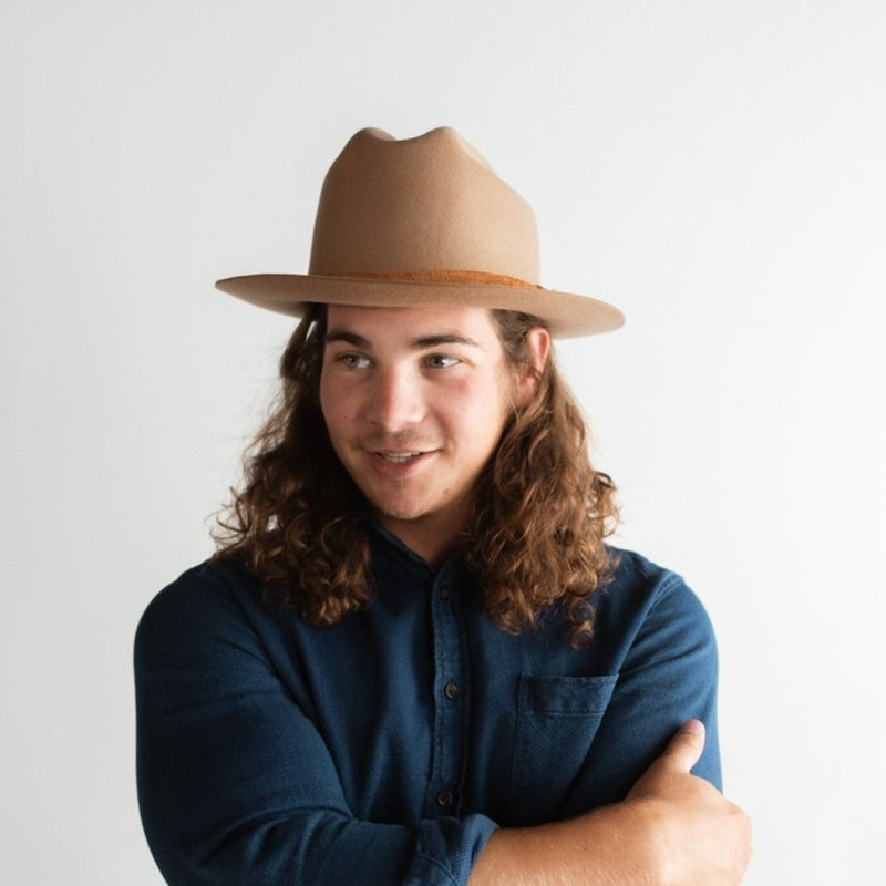 ELLISTON RANCHER HAT – BROWN