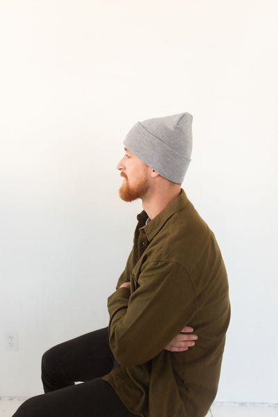 THE ROAD WATCH CAP BEANIE – GREY