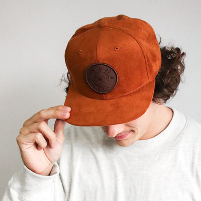 TONY GROVE SNAPBACK – BROWN/BROWN