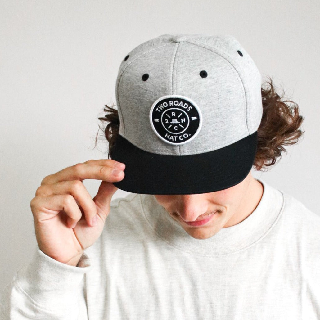 TONY GROVE SNAPBACK – GREY/BLACK